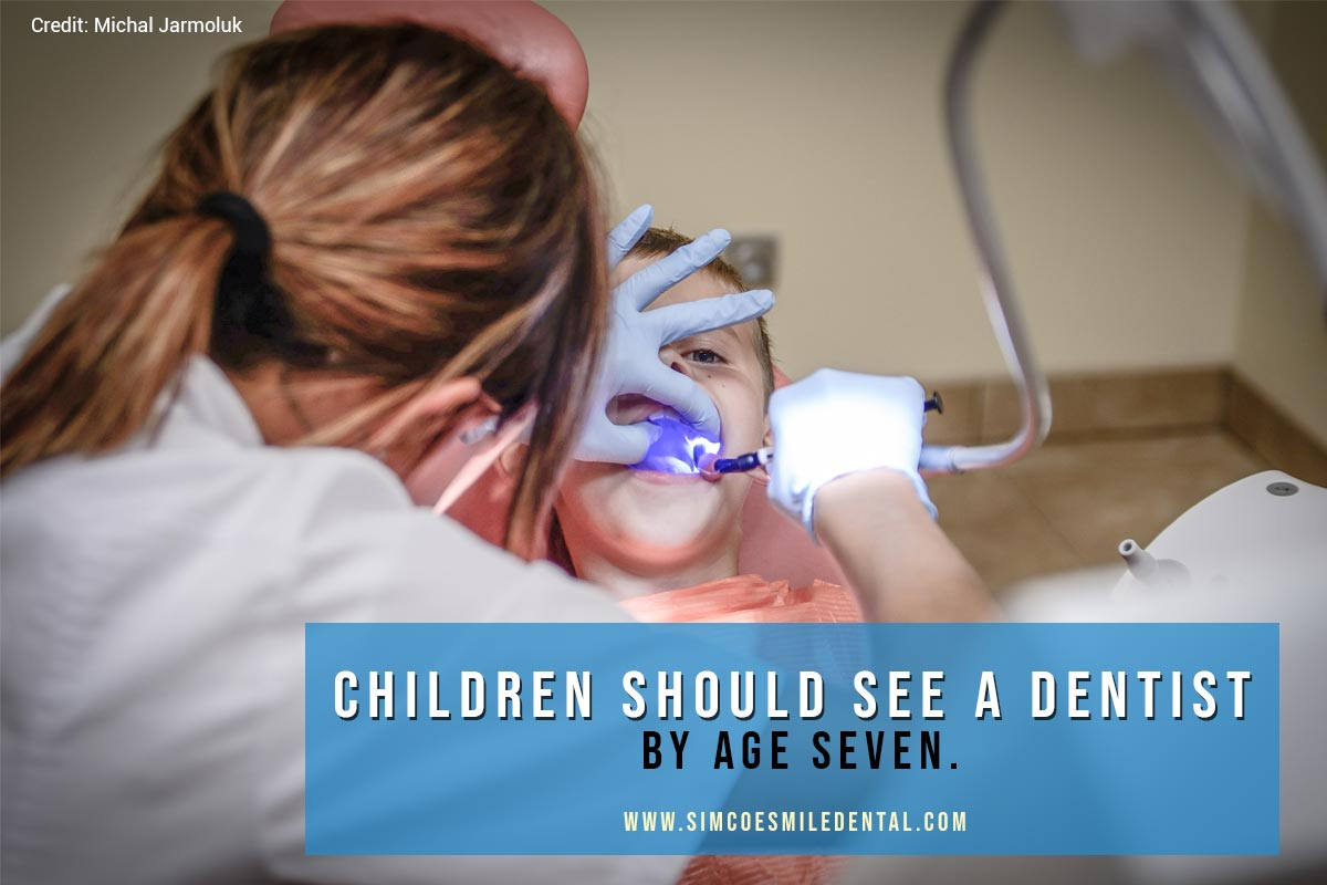 Children-should-see-a-dentist-by-age-seven How Do I Know If I Need Braces