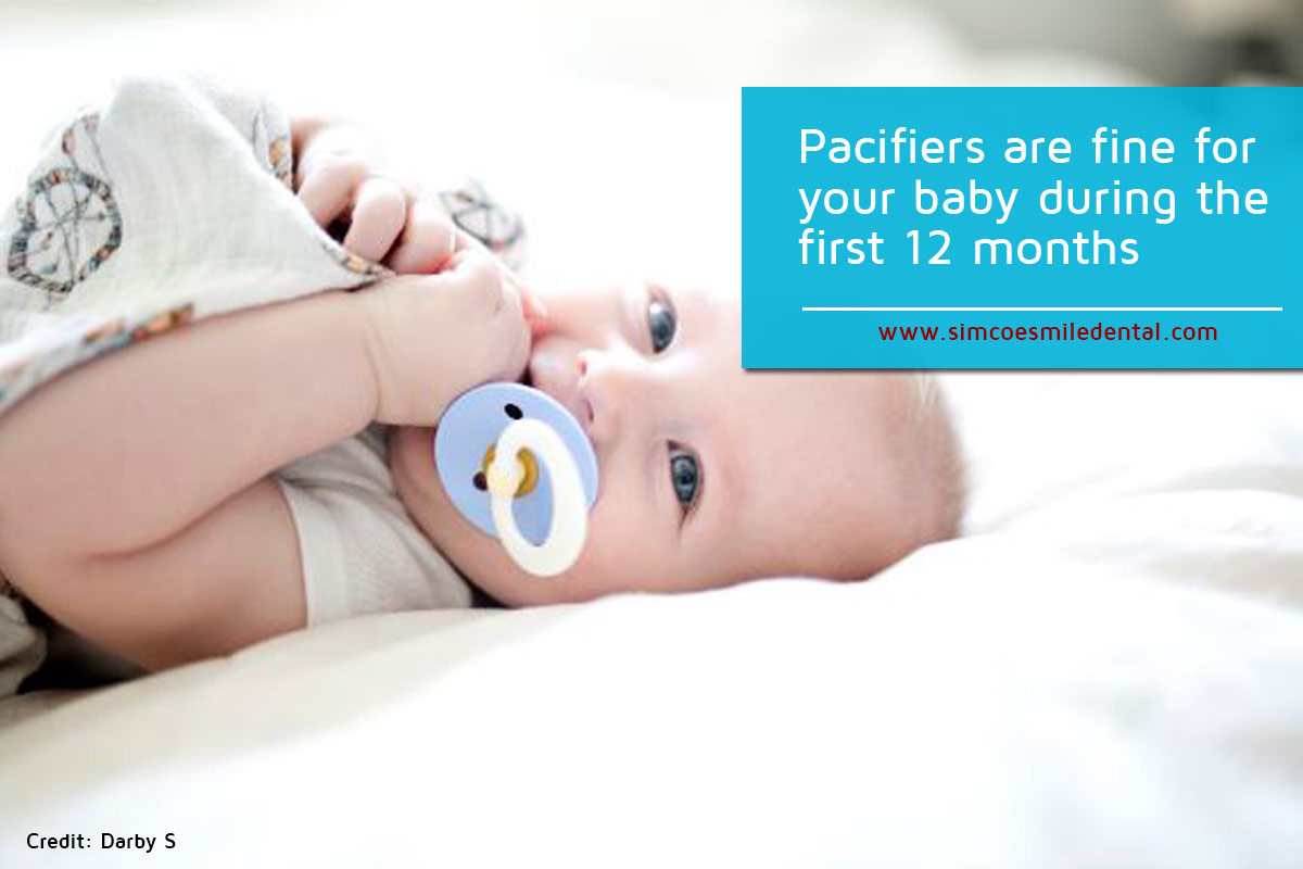 Pacifiers-are-fine-for-your-baby-during-the-first-12-months What New Moms Should Know About Baby Teeth