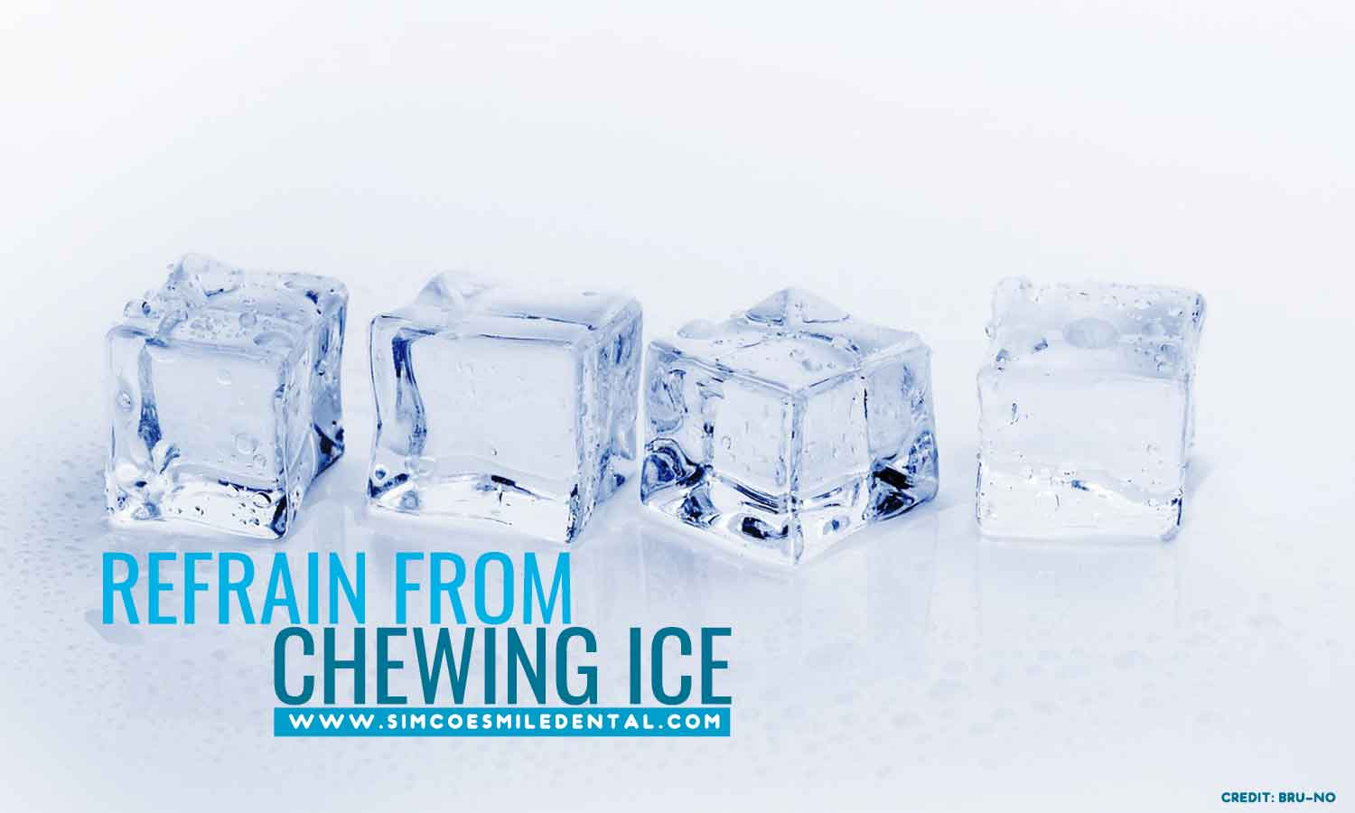 Refrain-from-chewing-ice 9 Unexpectedly Bad Habits That Can Hurt Your Teeth