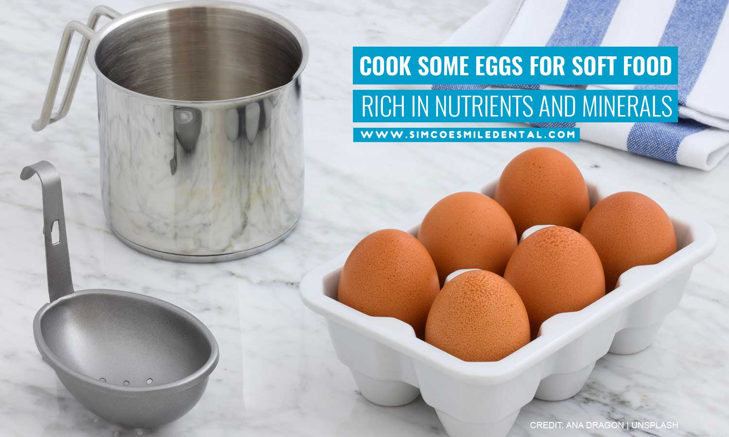 Cook-some-eggs-for-soft-food-rich-in-nutrients-and-minerals 9 Easiest Foods for New Braces