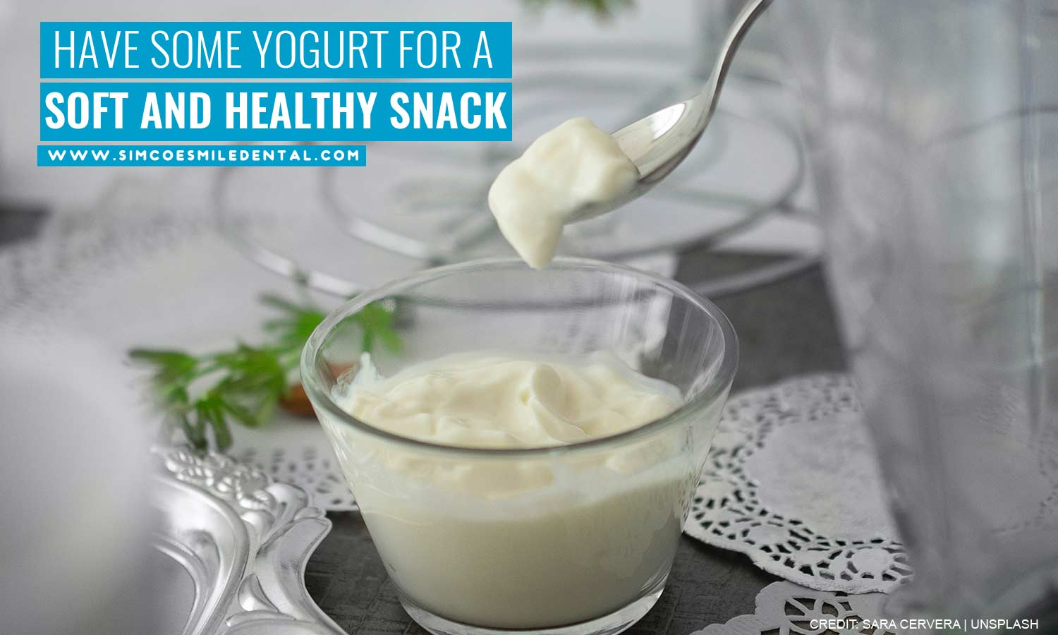 Have-some-yogurt-for-a-soft-and-healthy-snack 9 Easiest Foods for New Braces