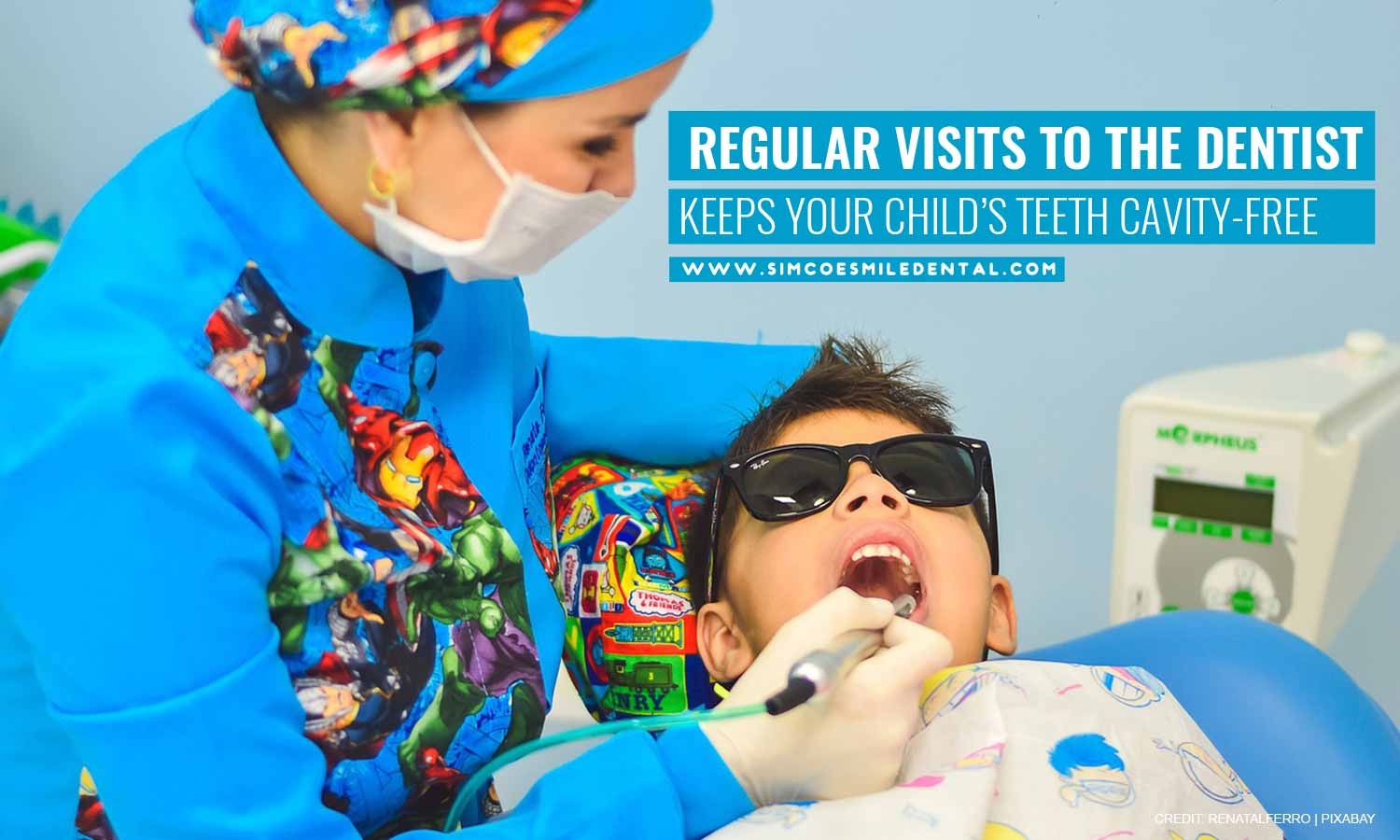 Regular-visits-to-the-dentist-keeps-your-childs-teeth-cavity-free How to Get Your Kid Excited for a Dental Visit