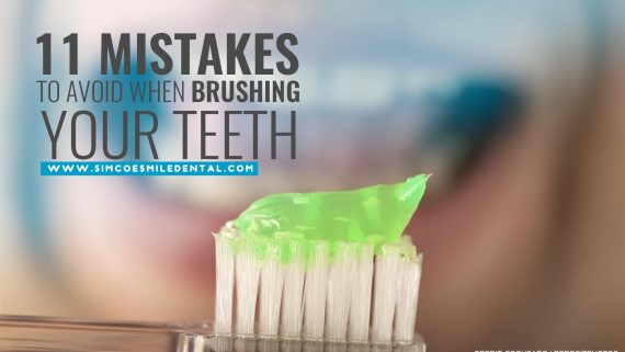 11 Mistakes to Avoid When Brushing Your Teeth