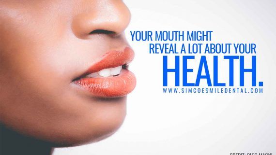 Your mouth might reveal a lot about your health